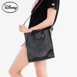 디즈니 미키펀치 사각 토트 블랙  TGC50