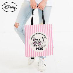 디즈니 줄 에코백 핑크  TGC57