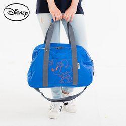 디즈니 미키 자수 여행백 블루 여행용 가방 TGC67
