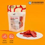 강아지간식 무무 스테이크 소고기 슬라이스 100g