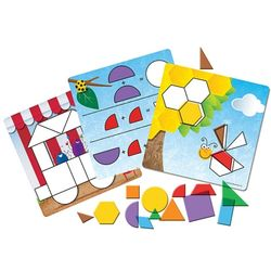 [상품명에 브랜드몰/도매몰삭제] (러닝리소스)평면도형 그림 퍼즐LER1762도형퍼즐
