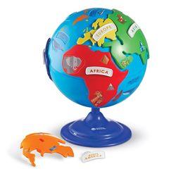 [상품명에 브랜드몰/도매몰삭제] (러닝리소스)LER7735  지구본 퍼즐유아용지구본