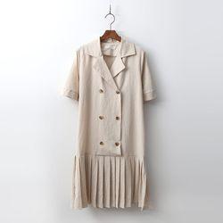 Linen Marine Dress