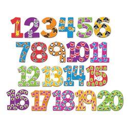 (러닝리소스)LER8591 숫자 퍼즐 카드유아용퍼즐