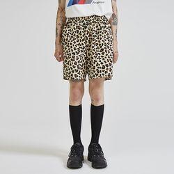 leopard half pants (2 color) - UNISEX