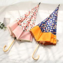 [무료배송] 비비드 플라워 여성 패션 장우산 2type