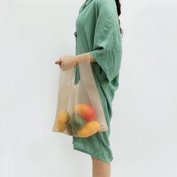 mesh market bag (2color)