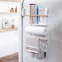 다용도 모던 철재 냉장고 주방 수납선반 랙