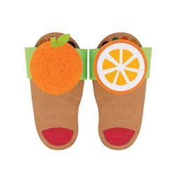 방과후 만들기패키지 오렌지 슬리퍼만들기 미술재료