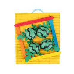 방과후 만들기패키지 칼라밭 수박밭꾸미기 미술재료