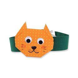 종이접기 방과후 만들기패키지 깜찍한 고양이머리띠