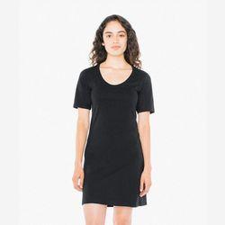 [무료배송] 베이직 코튼 드레스 블랙 RSA2314W