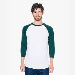 [무료배송] 34 래글런 티셔츠 화이트그린 BB453W