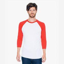 [무료배송] 34 래글런 티셔츠 화이트레드 BB453W