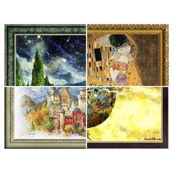 퍼즐사랑 퍼즐액자 모음전(4) 50x75 (cm)