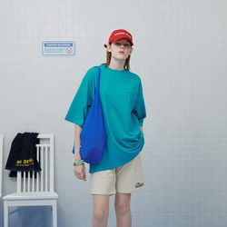 Diving club shopping bag-blue