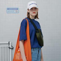 Diving club shopping bag-orange