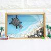 에코스톤나무액자만들기-바다거북이