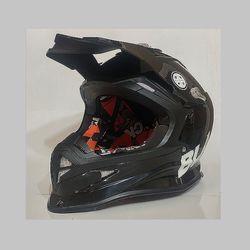 MXO 오토바이 모터사이클 헬멧 (블랙)