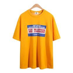 샌프란 프린팅 반팔 티셔츠 TSB737