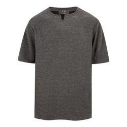 브이 트임 반팔 티셔츠 TSB707