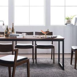루킹 멀바우원목 6인식탁세트(의자)