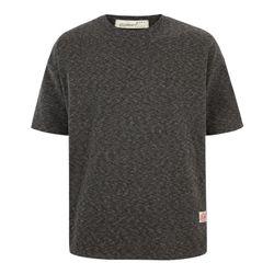 사선 박시 반팔 티셔츠 TSB731