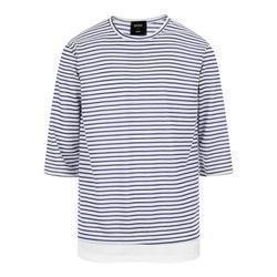 단가라 레이어드 7부 티셔츠 TSL708