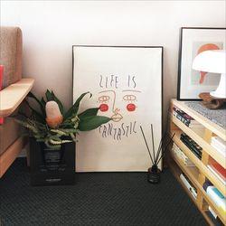 life is fantastic (ivory)