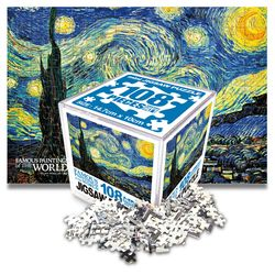 명화 직소퍼즐 미니 108pcs 꽃피는 아몬드나무