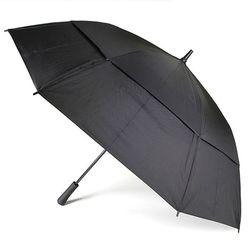 totes 토스우산 자동 골프 장우산 양산겸용 블랙 677BLK