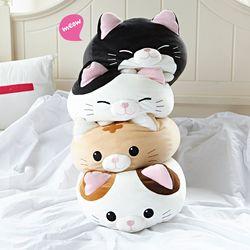 [무료배송 ~9/26까지] 모찌모찌 만두 고양이 쿠션 인형 4종