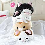 모찌모찌 만두 고양이 쿠션 인형 4종