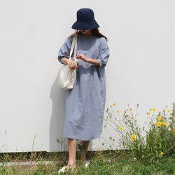 Linen loose fit long ops