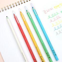 꿈그리미 친환경 색연필&투명캡 5색세트