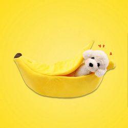 갓샵 강아지 고양이 바나나 숨숨집 대형