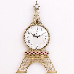 에펠탑 신주 무소음 벽시계 예쁜벽시계 CH1402871