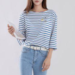 [로코식스] 미니미 스트라이프 티셔츠