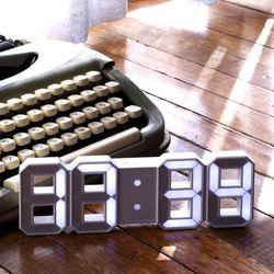 플라이토 LED 무소음 인테리어 탁상 벽시계