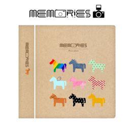 메모리즈 인스탁스 미니필름앨범2단 004-Horses night