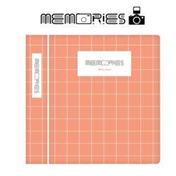 메모리즈 인스탁스 미니필름앨범3단 014-Peach square