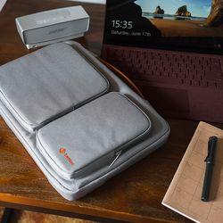 [~8/22까지] A17 맥북 노트북 가방 14인치-15인치 그레이