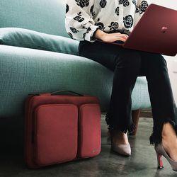 [~8/22까지] A17 맥북 서피스프로 노트북 가방 11.6인치-13인치 버건디