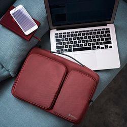 [~8/22까지] A17 맥북 노트북 가방 13인치-13.5인치 버건디