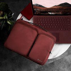[~8/22까지] A17 맥북 노트북 가방 14인치-15인치 버건디
