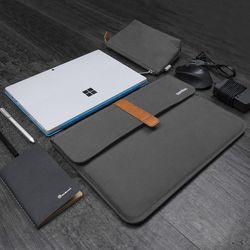 [~8/22까지] A19 맥북 노트북 파우치 슬리브  13인치 다크그레이