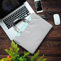 [~8/22까지] A21 맥북 노트북 가방 13인치-13.5인치 실버그레이