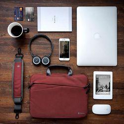 [~8/22까지] A45 맥북 노트북 가방 14인치-15인치 버건디