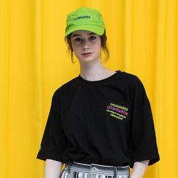 [남여공용]아보카도 허밍 티셔츠 - [블랙]