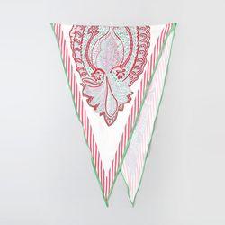 Silk Paisley Diamond Scarf
